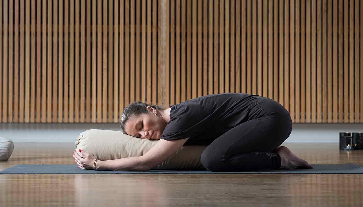 medicinsk yoga på Hagabadet