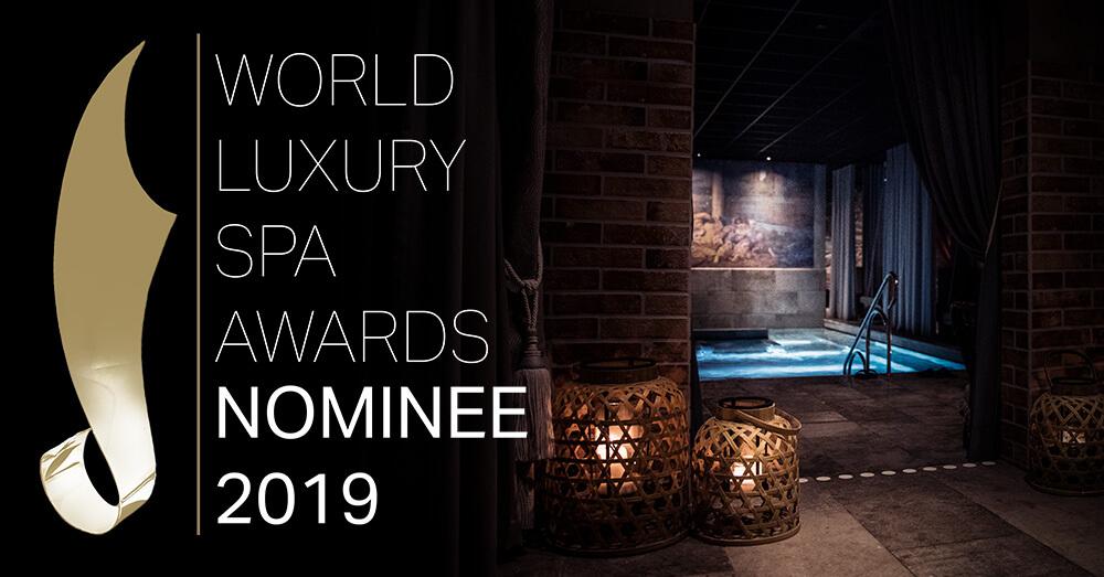 Hagabadet Drottningtorget är nominerade till World Luxury Spa Awards