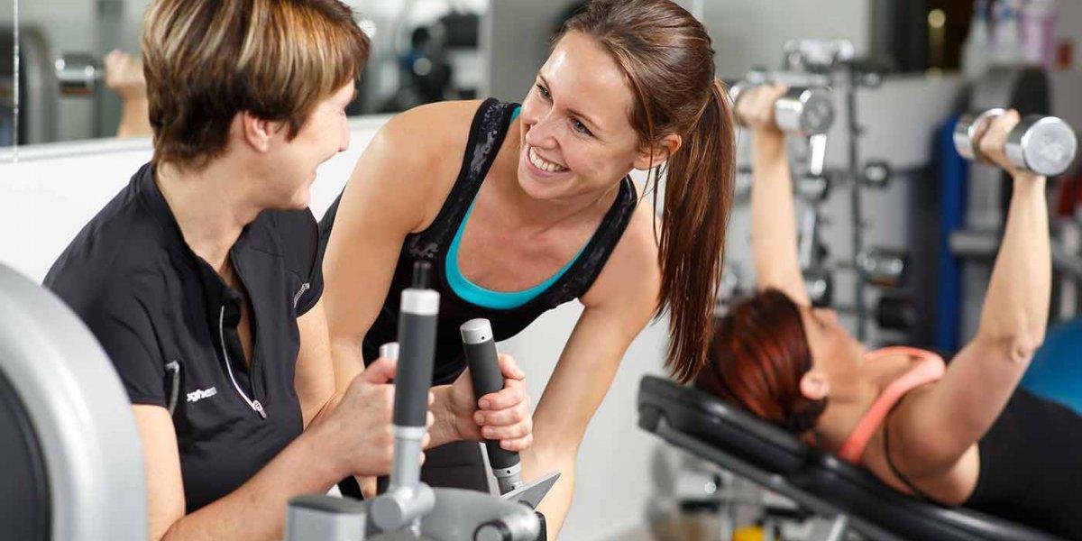 vikt- och träningskurs på Hagabadet